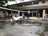 Water Balloon Volleyball 6-11-14